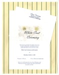 White Coat Ceremony Invitation