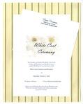 White Coat Ceremony Invitation