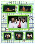 Six Photos of the White Coat Ceremony