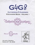 Cover: Gathering 4 Gardner 8 (G4G8) Exchange Book- Volume 1