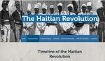 The Haitian Revolution by Jessica Stein, Kelsey Davis, Josh Mullenix, Christian Gonzalez, and Andrew Hesterhagen