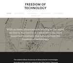 Freedom of Technology by Janssen Keiger, Kayleigh Pletch, Matt Monge, and Alyssa Yaroz