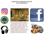 Freedom of Expression and the First Amendment by Brooke Kobren, Michela Semenza, Audrey Lukacz, and Sarah Lewis
