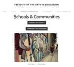 Freedom of the Arts in Education