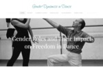 Gender Dynamics in Dance by Gen Bolton, Alex Lindsey, Isabelle Ramey, and Rebecca Tschan