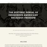 The Historic Denial of Indigenous Americans' Religious Freedom