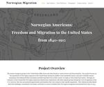 Norwegian Americans: Freedom and Migration to the United States from 1840-1915