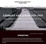 Germany and Japan: 1919-1939 by Jessie Wisniewski, Emma Milstead, Sophia Van Slyke, and Jack DeGroot