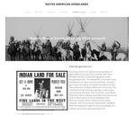 Native American Homelands by Austin Jacks, Kurt Helmich, Royal Hartwig, and Anu Kadampelil
