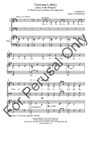 Christmas Lullaby-SATB | 10-96055