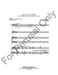 How Do I Love Thee SATB | 13-96890