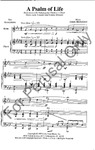 Psalm Of Life, A-SATB   10-96805