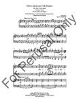 Three American Folk Hymns   10-96860