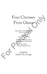 Four Choruses From Ghana | 20-96400