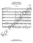Missa Brevis In C Minor - SATB | 21-20999