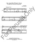 See Amid the Winter's Snow - SATB | 20-96065