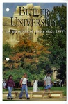 Butler University Admissions Pamphlet Cover