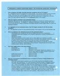 FAQ about PA Program