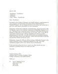 General Acceptance Letter Template
