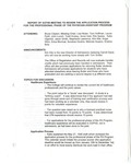 Report of 5/27/98 Meeting