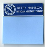 Betsy Hanson, Physician Assistan Student