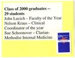 Class of 2000 Graduates