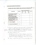 Guidelines scoring Table, Writing Below